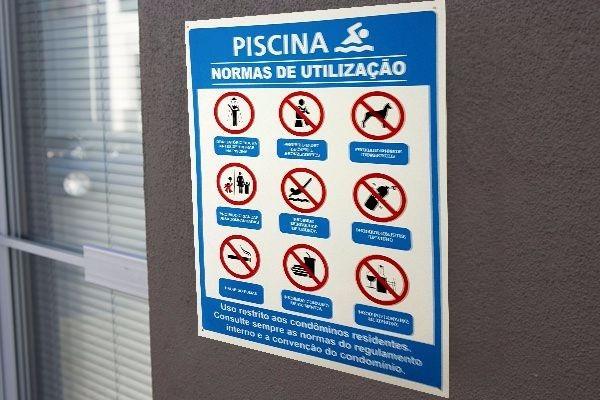 Placa PS, Placa, Sinalização   Fórmula Comunicação Visual