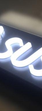 Letra Caixa Acrílico LED   Fórmula Comunicação Visual