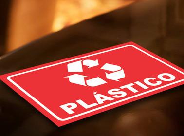 Placa sinalização PS, PVC | Fórmula Comunicação Visual