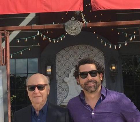 Abel Sierra Madero and Jorge Edwards (Miami, 2017)