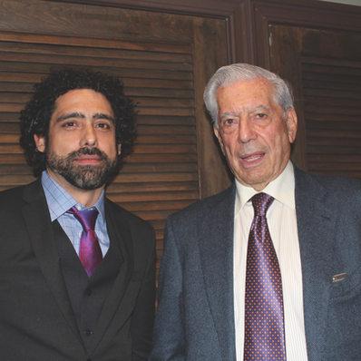 Abel Sierra Madero and Mario Vargas Llosa (Princeton, 2015)