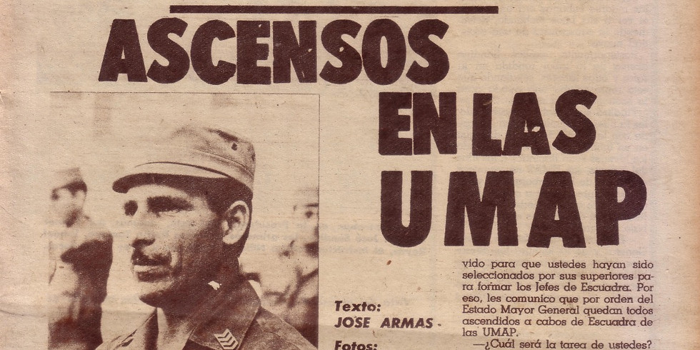 Nadie Escuchaba. Las UMAP y la reescritura de la Historia. Conferencia de Abel Sierra Madero