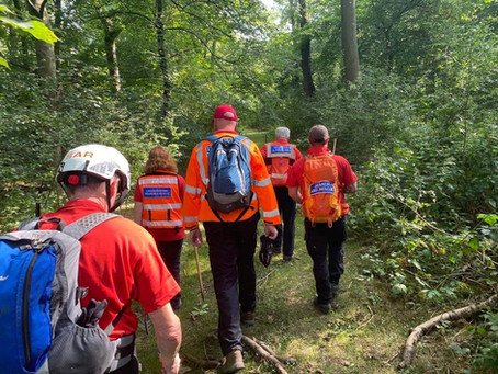 Assisting Leicestershire Search & Rescue