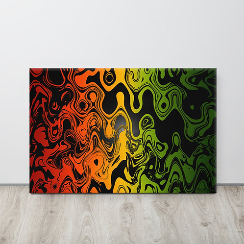 JAMAICA DRIP  - Stretched Canvas