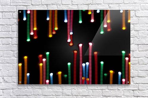 'Light Fight' - Acrylic Print 24x36