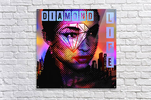 'Diamond Life' - Acrylic Print 20x20