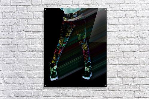 'Punk Rock Girl' - Acrylic Prints 24x36
