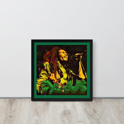 Exodus BM -  Framed poster