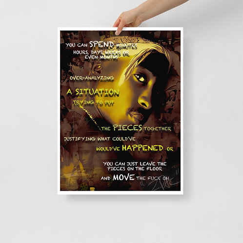 A SITUATION TuPac - Photo paper poster