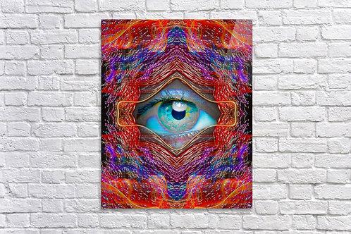 'Looking Glass' -  Acrylic Print 24x36