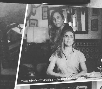 Tessa y Andrea Sánchez Walmsley