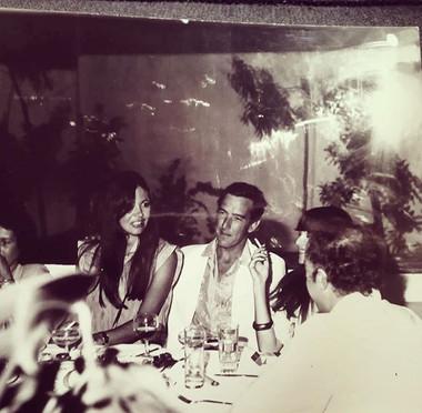 "Tessa y Ginés en Ibiza cuando crearon ""AMNESIA"""