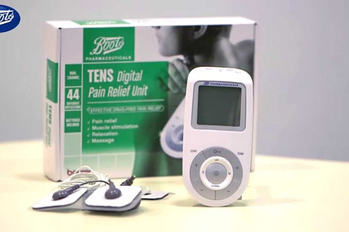 Booth Dual Channel TENS/ EMS Pain relief