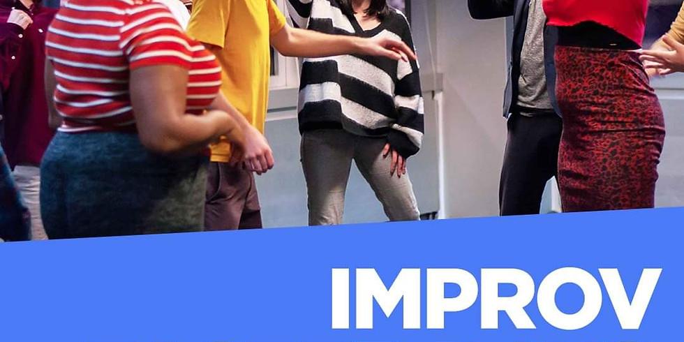 Hoopla Impro Online Beginners Taster Workshop