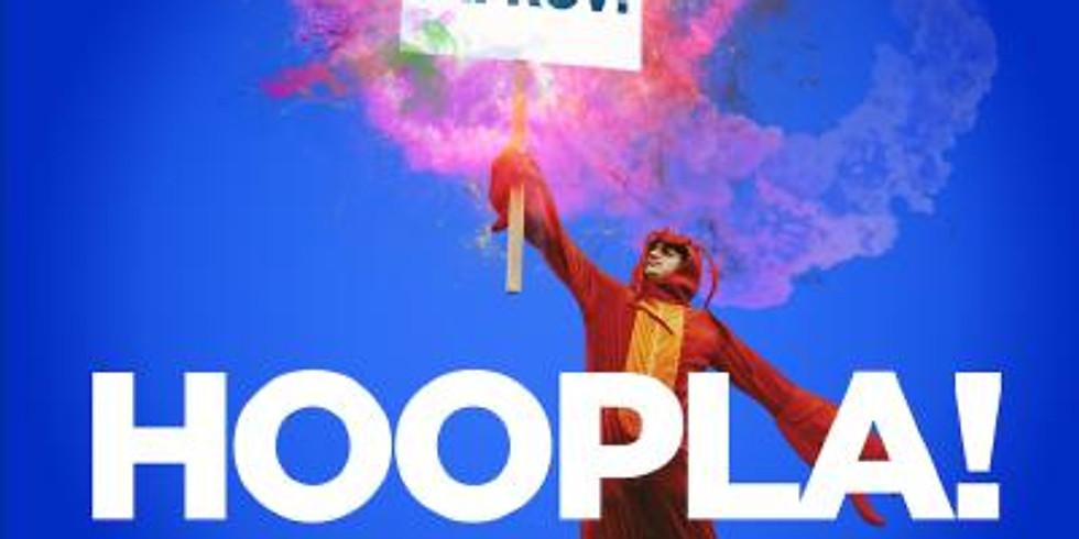 Hosting   Hoopla Impro presents Lockdown's Got Talent!!