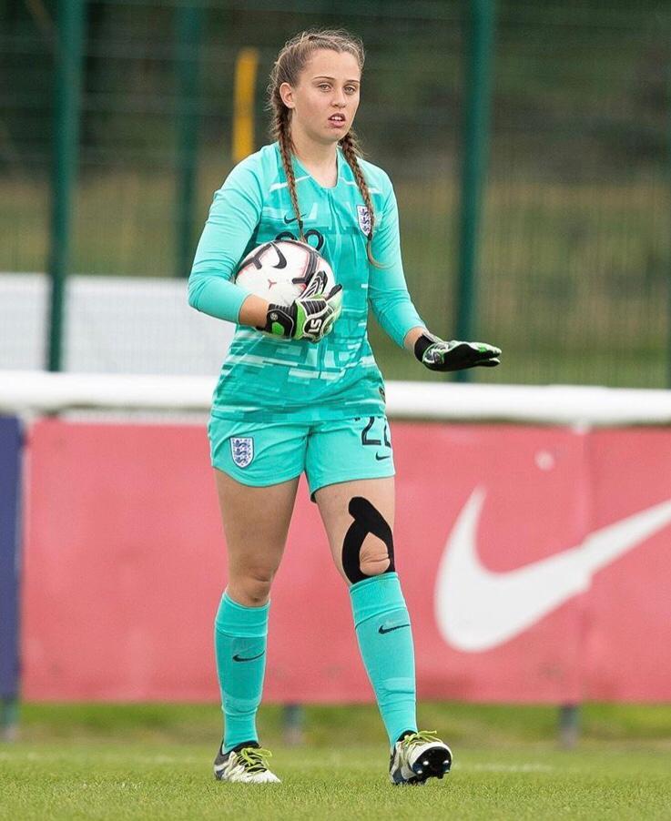 Goalkeeper Rose Kite