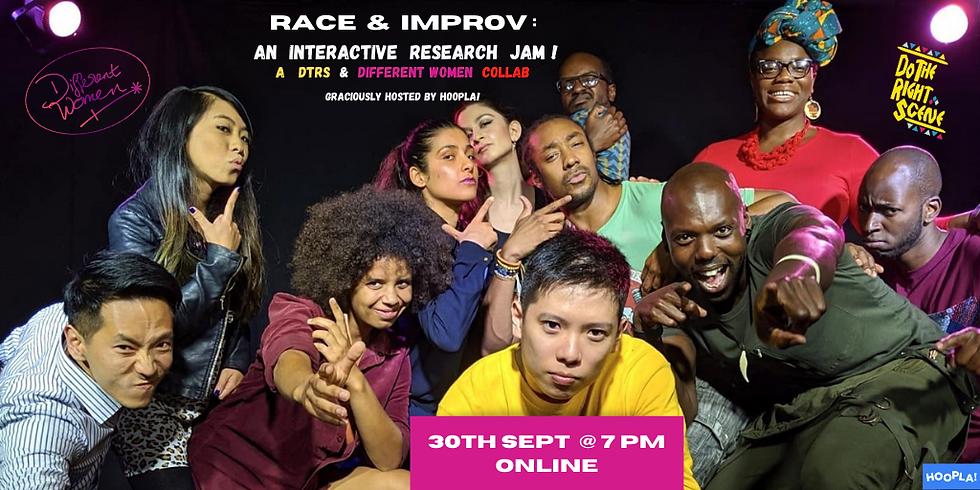 Race & Improv: An Interactive Research Jam