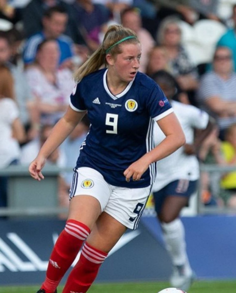 Celtic and Scotland striker Kathleen McGovern