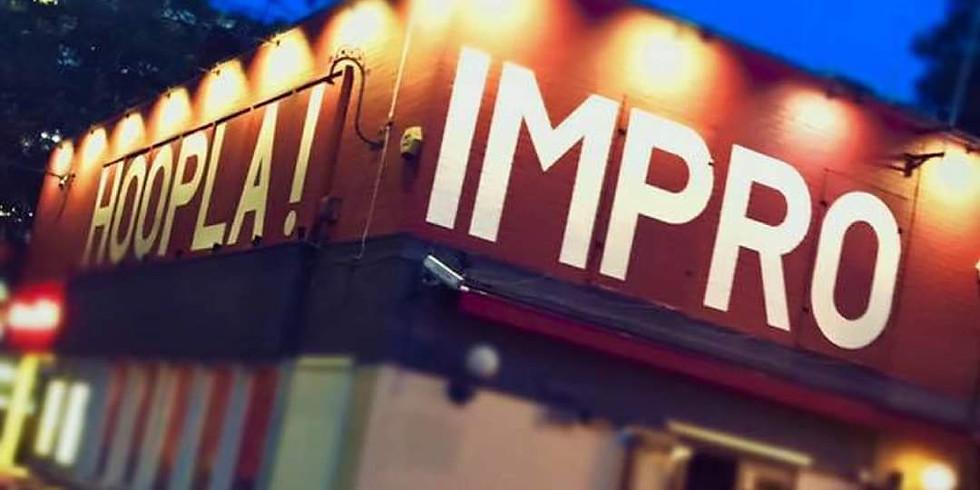 Hosting | Hoopla Impro pre-party