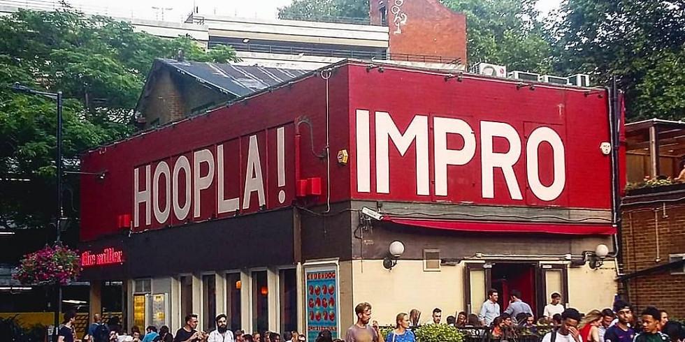Hosting   Hoopla Impro pre-party