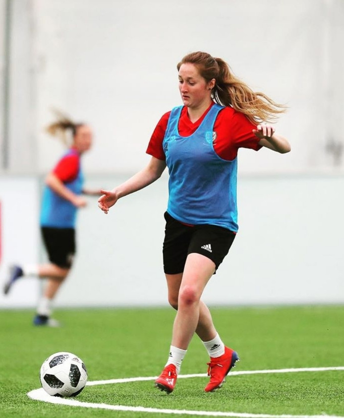 Yeovil midfielder Chloe Lloyd