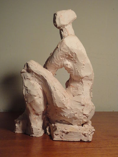 Seated Figure (view 2)