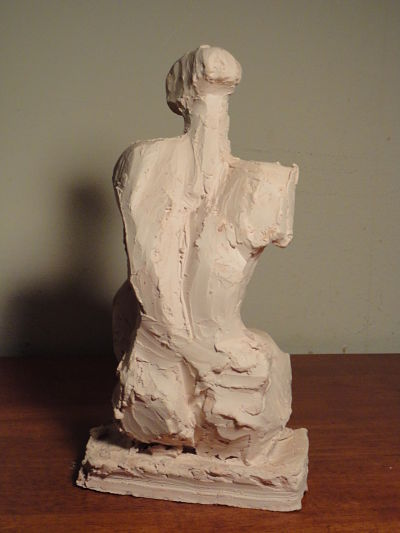 Seated Figure (view 3)