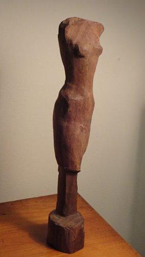 Walking Figure (view 1)