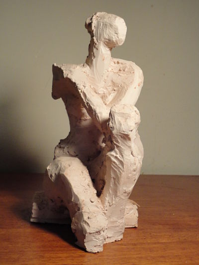 Seated Figure (view 4)