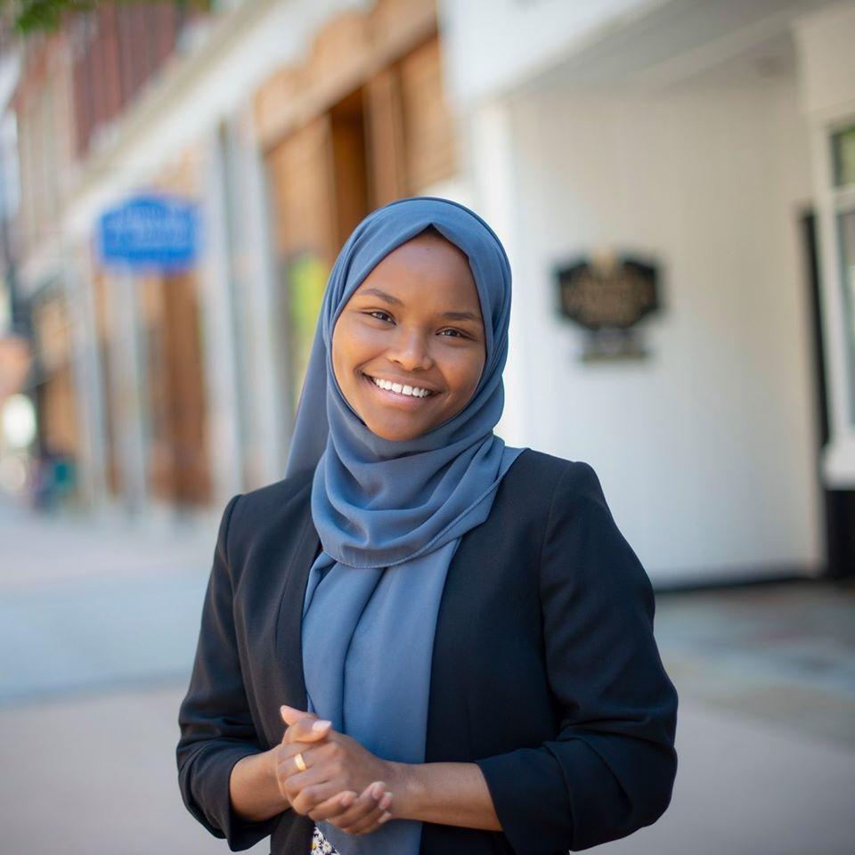 Safyia Khalid Lewiston Somali politics