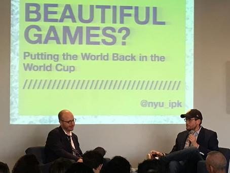 World Class Writers talking World Cup