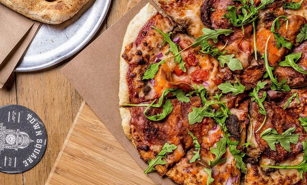 Brewers Break Pizza -Frozen & Ready to Bake