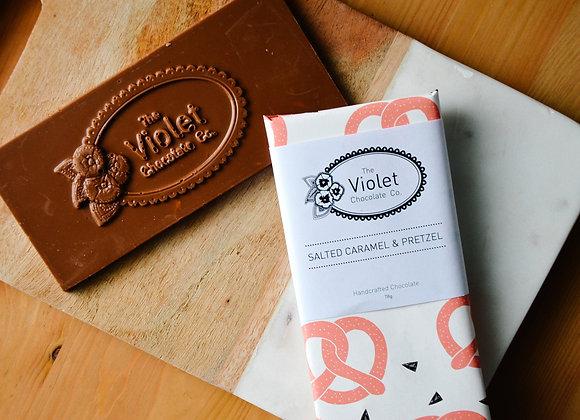 Violet Chocolate Co. Chocolate Bars