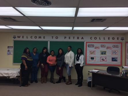 New CNA Enrollees at Petra College