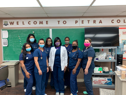 Medical Assistant Students Class of 2020