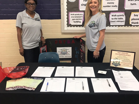 Petra College attends career day at Independence High School