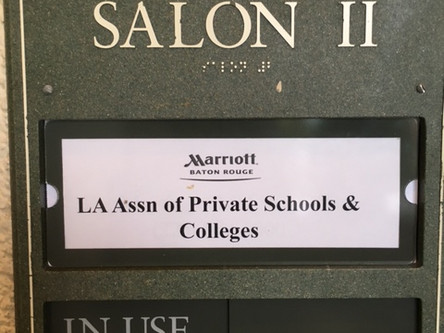 President of Petra attends LA Association of Private Schools & Colleges