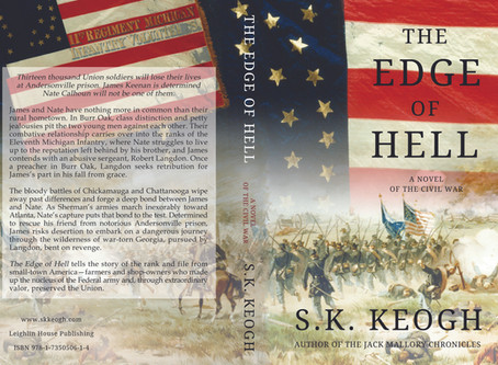 Paperback Jacket for The Edge of Hell