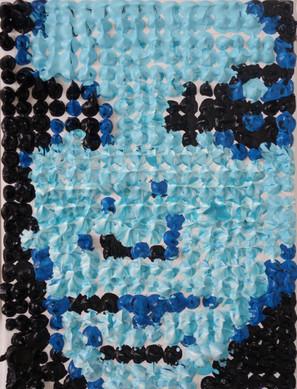 Portrait en Volume Bleu