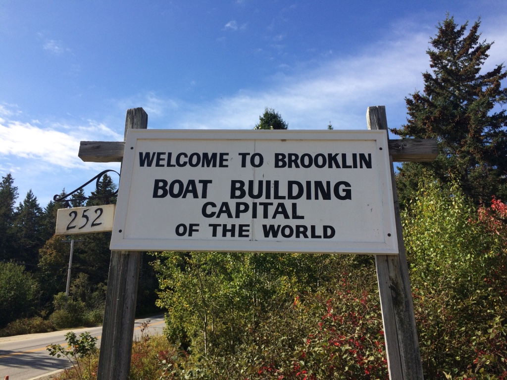 welcome to Brooklin sign
