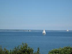 lighthouse & boats