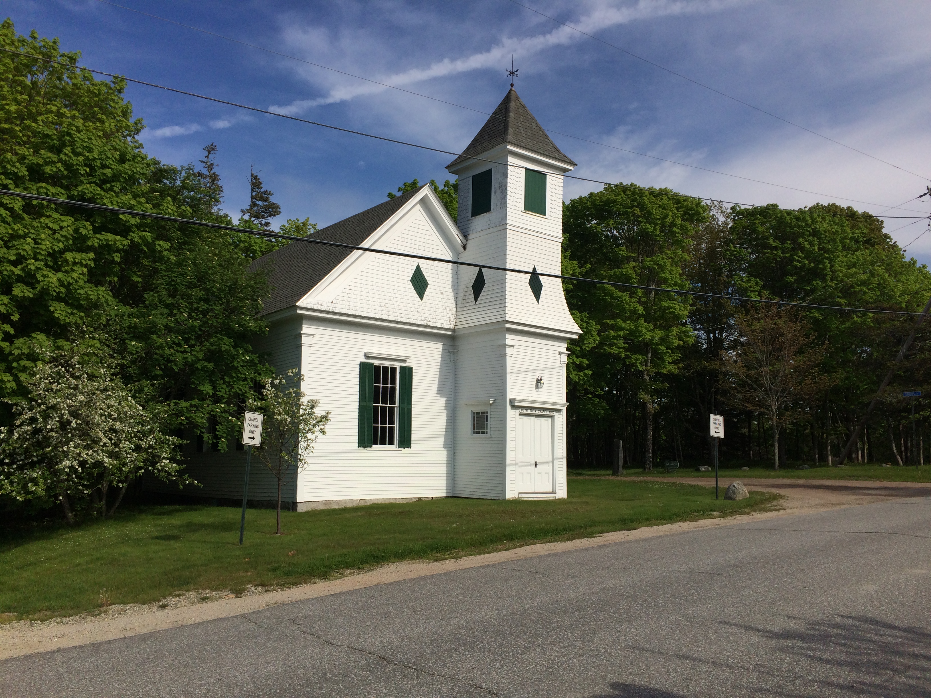 chapel, Naskeag Point, Brooklin