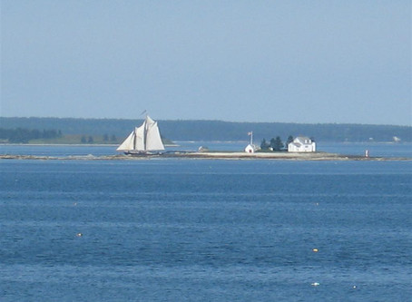 The Blue Hill Bay Lighthouse