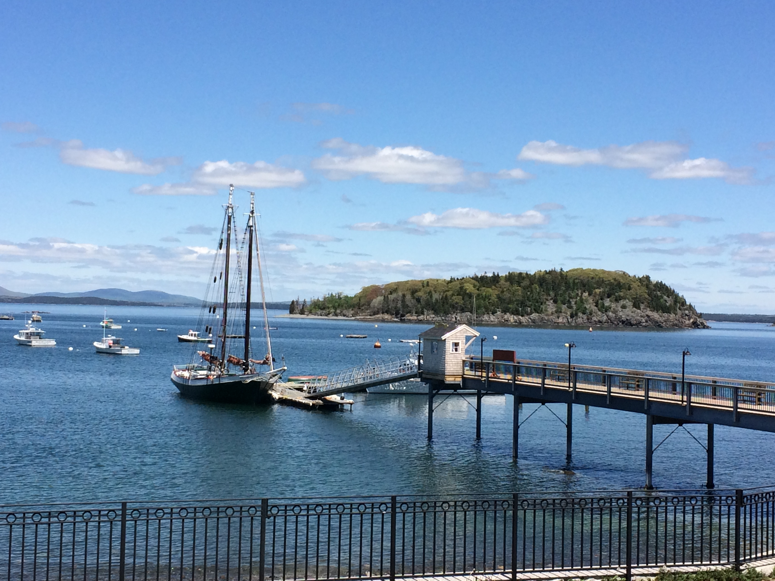 pier, Bar Harbor