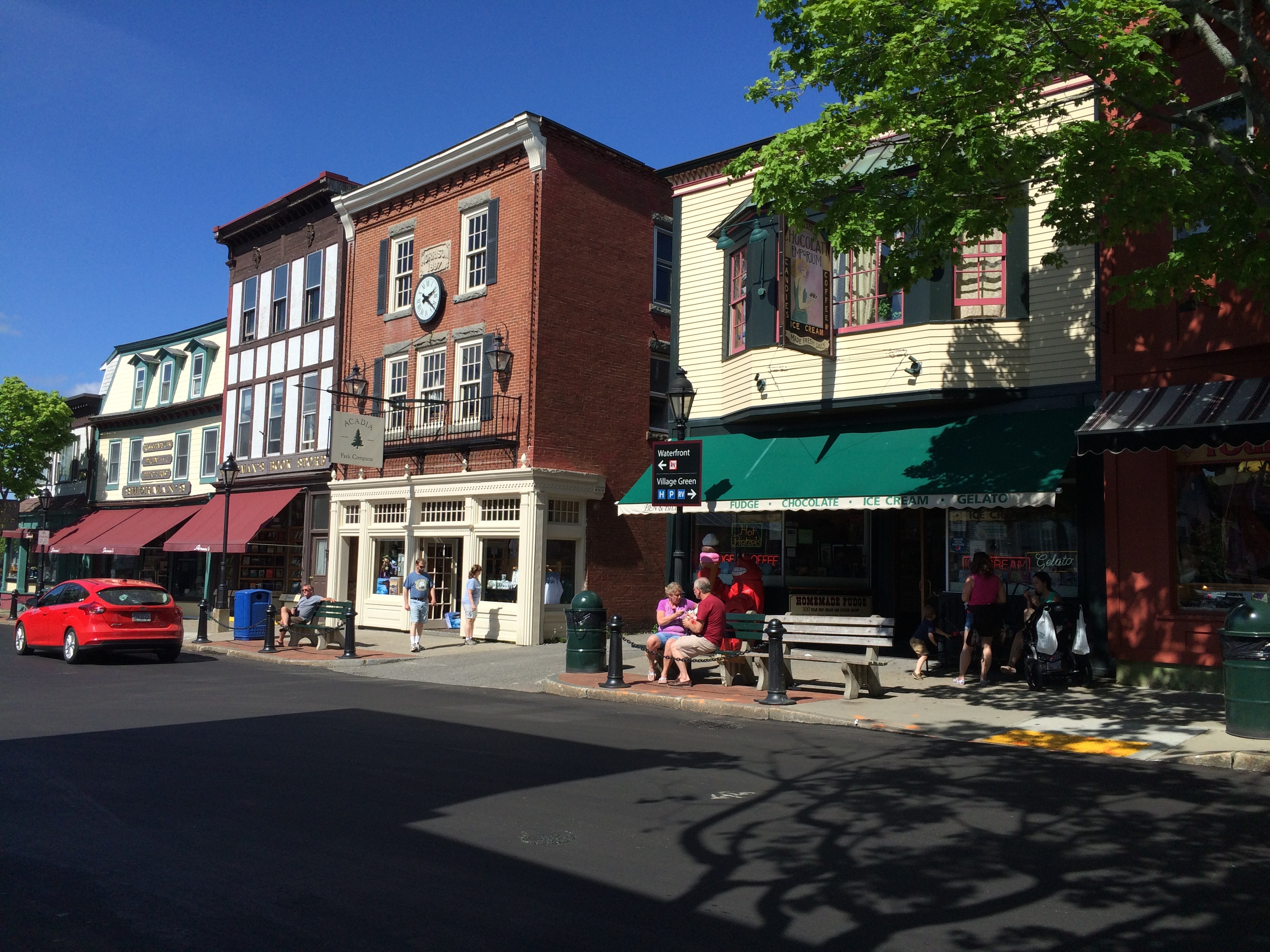 Main Street, Bar Harbor