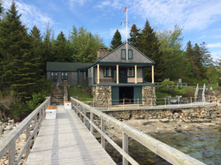 boathouse at WoodenBoat School