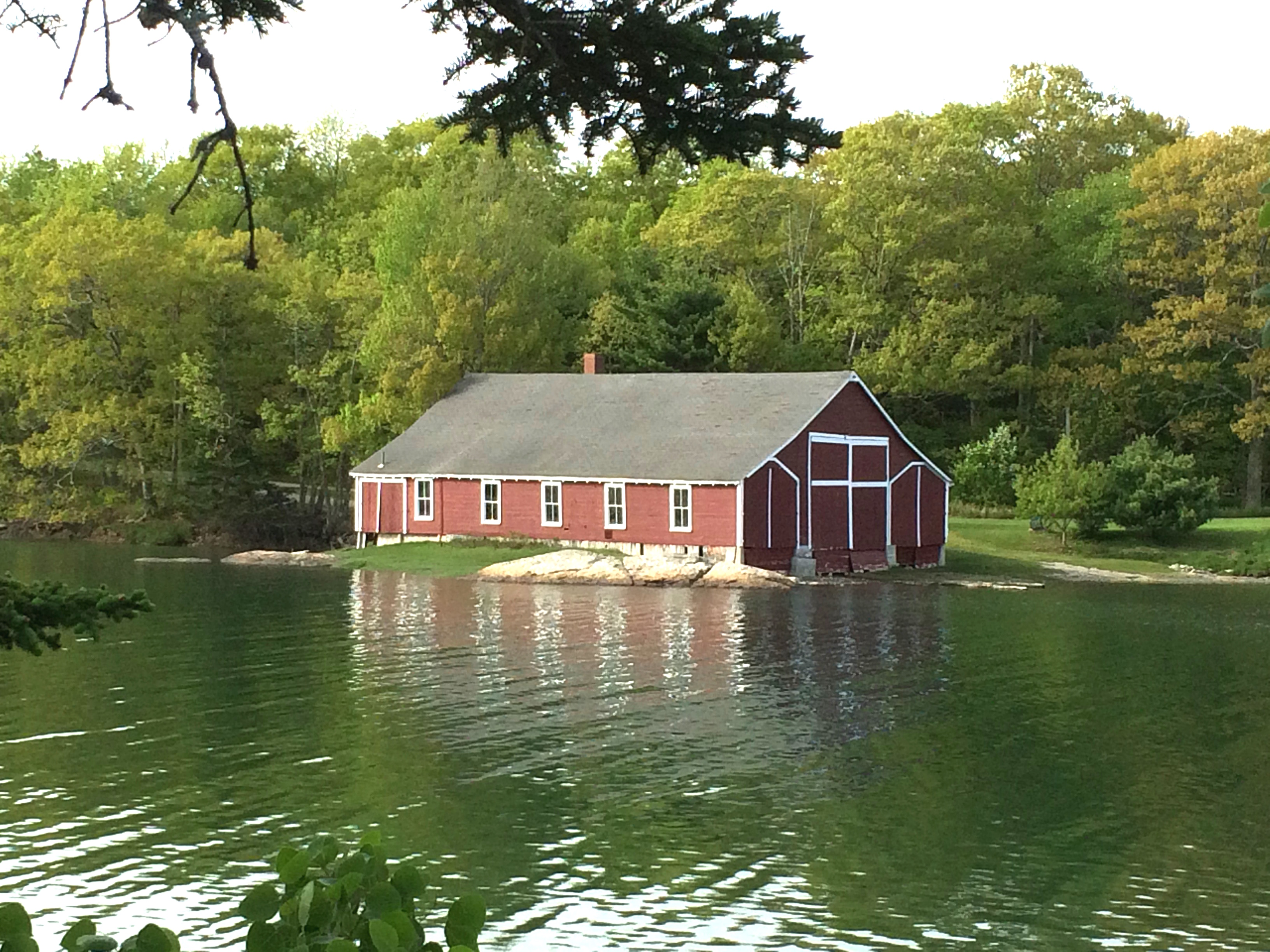 boathouse, Blue Hill