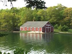 boathouse, Blue Hill