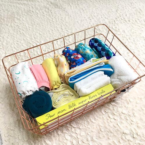 Kit découverte couches lavables 20 changes 10 jours