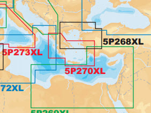 Navionics Platinum+ 5P270XL South Aegean Sea